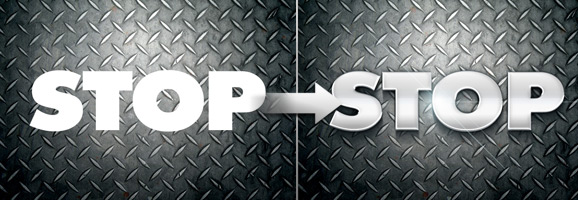 Polished 3D Text Effect